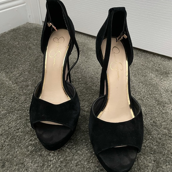 Gently Used Faux Suede Pumps